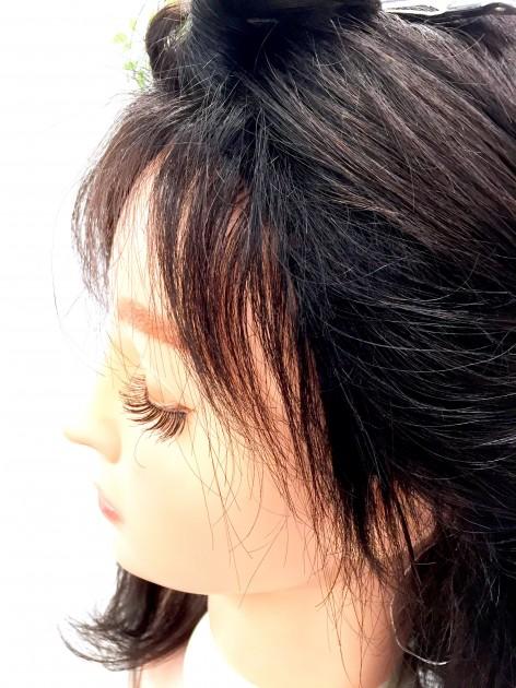 医療用ウィッグ うぶ毛 自然 リアル バレない